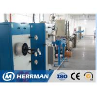 China Indoor Tight Buffered Fiber Optic Cable Production Line With Dry Tube on sale