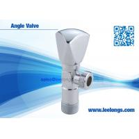China Brass Angle Valve Sanitary Ware Accessories With Zinc Triangle Handle wholesale
