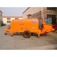 China 16PMa Trailer Mounted Concrete Pumps Controled By Mitsubishi PLC Controler wholesale