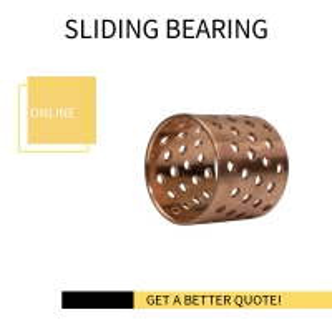 Best Durable Dry Sliding Bearing Gerolltes Bronze Gleitlager Perforiert CuSn8P DIN 17662 wholesale