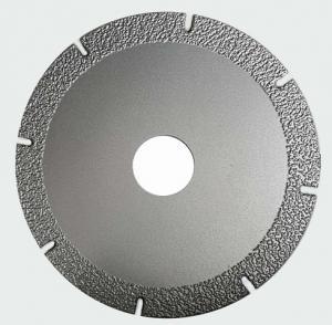 Best Segmented Vacuum Brazing Diamond Stone Cutting Blades With Long Cutting Life wholesale