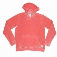 Buy cheap 60% cotton 40% polyester french terry 265gsm Men's pullover from wholesalers