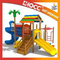 Best 555 KG Commercial Wooden Playground Equipment 610 * 520 * 375 Cm Size wholesale