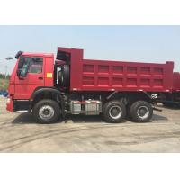 Best 40 Tons Euro II Tipper Dump Truck 10 - 25CBM Diesel Engine Low Fuel Consumption wholesale