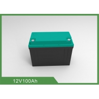 Buy cheap Rechargeable 1.28KWh 12V 100Ah LiFePO4 Bluetooth RV Battery from wholesalers