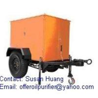 China Sell Mobile vacuum Transformer oil Purification/ Transformer oil Treatment plant on sale