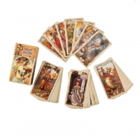 Cheap Cardboard Mystical Divination Fate Party Game Tarot Cards for sale