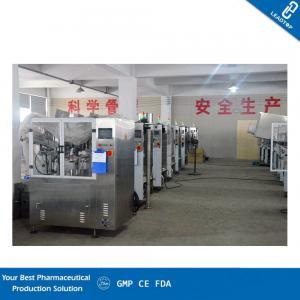 Best Precise Design Tube Filling Machine / Semi Automatic Tube Filling Sealing Machine wholesale