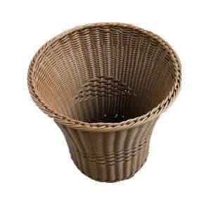 Best 36cm PE Rattan Weaving storage Baskets wholesale Rattan Plastic Laundry Hamper Plastic Laundry Basket wocker baskets wholesale