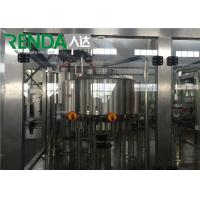 Best Automatic Small Water / Drink / Soda Water Bottle Filling Machine 2000 - 20000BPH wholesale