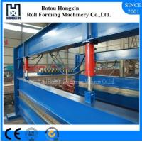 Best Aluminum Sheet Roll Bending Machine 4 Meter Raw Material Width PLC Control wholesale