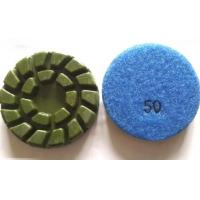 China Green Spiral Dry Wet Concrete Polishing Pads on sale
