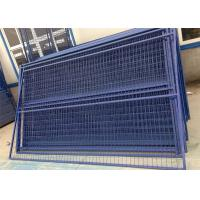 China 6*10ft Size Metal Base mesh spacing 2x4 Canada Temporary Fence Panels diameter 9.5 GA diameter on sale