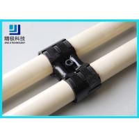Best Adjustable Swivel Metal Pipe Joints For Rotating In Pipe Rack System Black Fitting HJ-8 wholesale