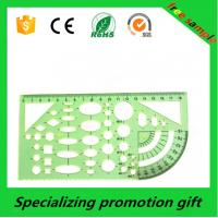 Buy cheap Multifunctional Different Shaped Plastic Drawing Stencil Template Ruler product