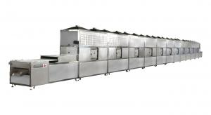 China Industrial Tunnel Continuous Microwave Dryer for Grits ripening on sale