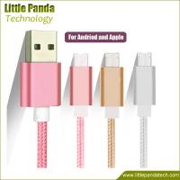 China High Quality Fast Charging Micro USB Cable Double Sided USB Data Cable 8pin+v8 for Android on sale