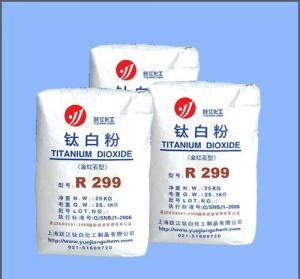Best Rutile Type Titanium Dioxide R299 wholesale