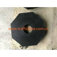 China 8lb Hexagon 100% Recycled Black Rubber Base for Traffic Cone, Road Safety, Delineator Post on sale