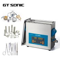 China 150W 40KHz 6L Digital Ultrasonic Cleaner 1-99 Mins Timer With Stainless Steel Tank on sale