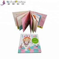Best 350gsm Art Paper Printing Services Custom Delicate Children Educational Board Book wholesale