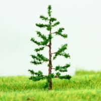 Best Miniature Scale Model Trees Green Avenue Planting Wire Pine Tree 5cm wholesale
