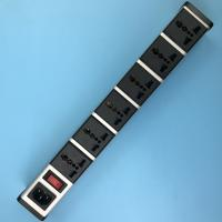 China Multifunction Network Intelligent PDU IEC320 C14 Inlet, 6 Outlets Universal Power Strip on sale