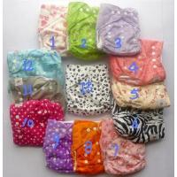 China cloth baby diaper with pocket on sale