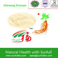 Ginseng Pure Root Extract 5%~30% Ginsenosides