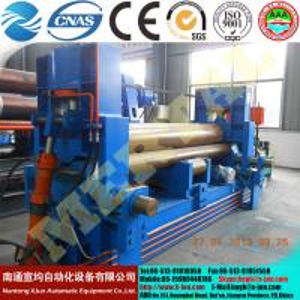 Best W11C-40X18000 Marine three-roller hydraulic plate bending machine, pressure head plate rolling machines wholesale