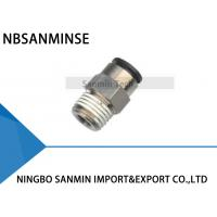 Best PCP All Brass Body With Plastic Sleeve Push - In Fitting Pneumatic Pipe Fittings wholesale