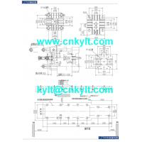 700T PLC High Speed High Pressure Aluminum, Copperbrass, Magnesium, Zinc(zamak), Lead(Pb.) Metal Alloy Die Casting Machine die platen drawing die fitting drawing mounting foundation base drawing