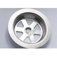 Best Stainless Steel 304 Sink Strainer Parts Narrow Width Durable 15g For Kitchen wholesale