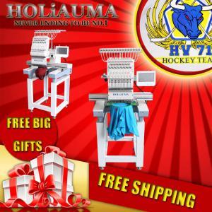 Best Automatic HOLiAUMA one head high speed computer embroidery machine like brother embroidery machine wholesale