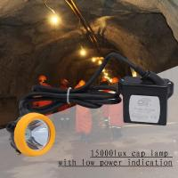 Best Explosionproof Portable Led Miners Light 1 Watt 6.6ah Rechargeable wholesale