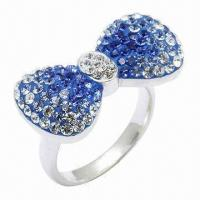 Best Bow Tie Crystal Ring wholesale