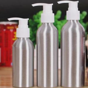 China Bathroom Shampoo Custom Aluminum Bottles , Leak Proof Makeup Spray Bottle on sale