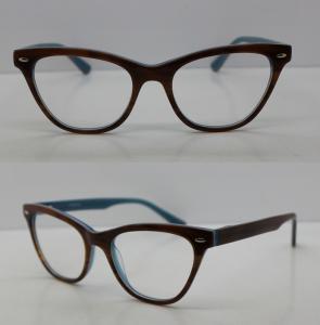 Best Custom Made Black Full Rim Modern Eyeglass Frames With CE Approve wholesale