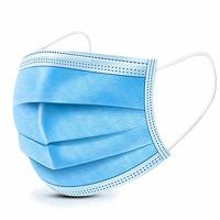 Best 3 Ply Blue Color Cheap Price Disposable Face Mask Non Woven Material Used For Personal Protection wholesale