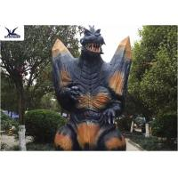 Cheap 2.3 Meters Amusement Park Giant Realistic Animatronic Godzilla Statues can move for sale