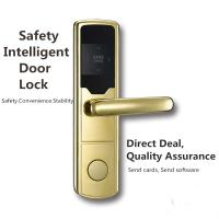 Best Anti - Corrosion SS RFID Hotel Lock Silver / Golden / Red Bronze Color Optional wholesale