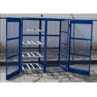 China Different Sizes Fuel Storage Cage , Durable Gas Canister Cage Anti Theft on sale