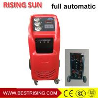 China Auto garage used full Automatic AC refrigerant charging machine on sale
