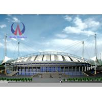 Best Huge Playground Shade Canopy Permanent Steel Structure Roof For Sports Stadium wholesale