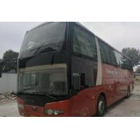 Best ZK6125 Used Passenger Bus 57 Seats 2013 Year With Safe Airbag / Toilet wholesale