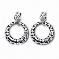 Best Drop Earrings, Customized Designs are Accepted, Made of Sterling Silver wholesale