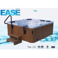 China Square acrylic whirlpool massage outdoor luxury bath tubs with 4 seats and 3 lounges on sale