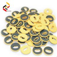Best High quality Round shape Waterproof RFID UHF Button Laundry Tag wholesale