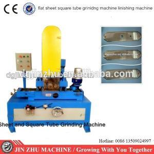 China automatic abrasive belt sheet metal grinding machine on sale
