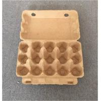 Buy cheap plup paper egg tray egg packing box 15 pcs disposable egg packing box paper from wholesalers